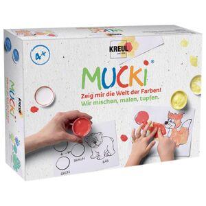 Sada prstových farieb MUCKI - Maľujme - miešajme - razítkujme