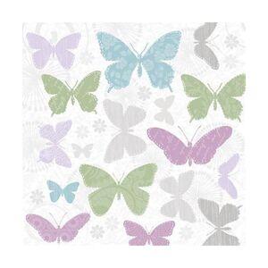 Servítky na dekupáž – Jemné motýle – 1 ks