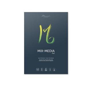 Blok papiera pre rôzne techniky – MIX-MEDIA pad