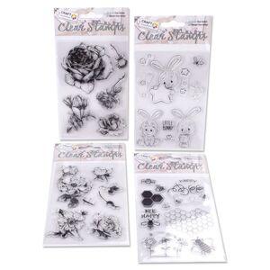 Transparentné pečiatky Craft Sensations