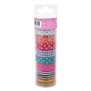 Washi páska Craft Sensations – 8 ks