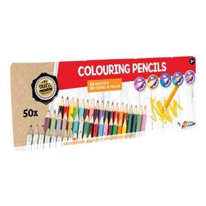 Farebné ceruzky Grafix - 50 ks