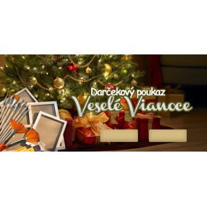Darčekový POUKAZ - Veselé Vianoce 2