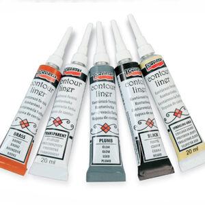 Kontúrovacia farba PENTART - 20 ml