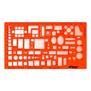 Technická šablóna architektonická - nábytok - 1:100