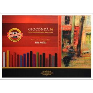 Tvrdé olejové pastely GIOCONDA / 36 dielny set