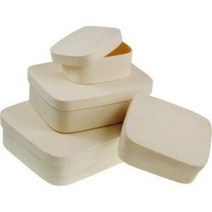 Obdĺžnikový box z preglejky / rôzne rozmery