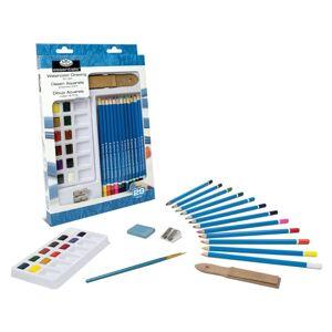 Akvarelový set Royal & Langnickel Essentials / 29 dielny