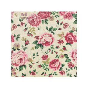 Servítky na dekupáž – Kvety ruže – 1 ks