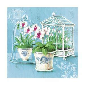 Servítky na dekupáž – Orchidea – 1 ks