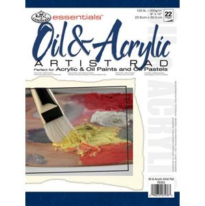 Blok papierov [olej/akryl] Royal & Langnickel ARTIST PAD / 22 ks