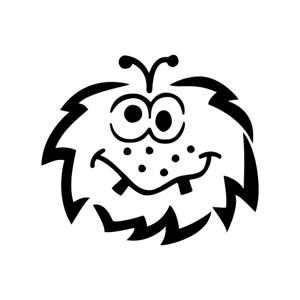 Dizajnová šablóna pre deti C. Kreul - Monster