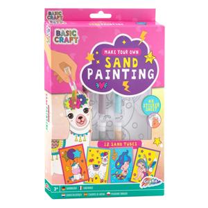 Kreatívny piesok na kreslenie pre deti - pink