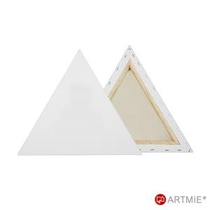 Maliarske plátno na ráme Trojuholník 30x30x30 cm