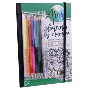 Omaľovánka s farbičkami Craft Sensations 40 listová