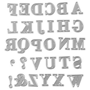 Šablóny na vyrezávanie - abeceda