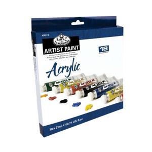 Sada akrylových farieb Royal & Langnickel / 18x21 ml