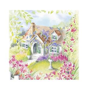 Servítky na dekupáž – Dom v krajine – 1 ks
