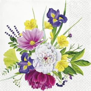 Servítky na dekupáž Flower Bouquet - 1 ks