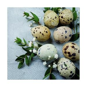 Servítky na dekupáž – Prírodné vajíčka – 1 ks