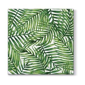 Servítky na dekupáž – Tropické listy – 1 ks