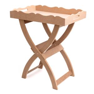 Stôl z MDF na dotvorenie